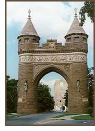Soldiers and Sailors Memorial Arch in Hartford